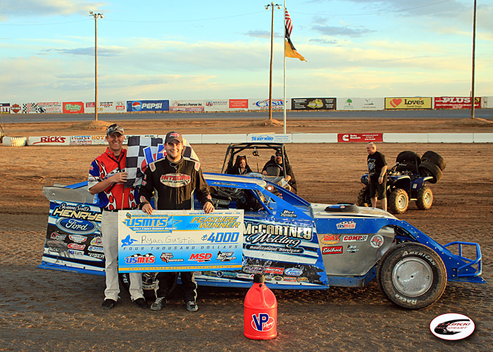 GUSTIN GETS THE JOB DONE IN LAS CRUCES