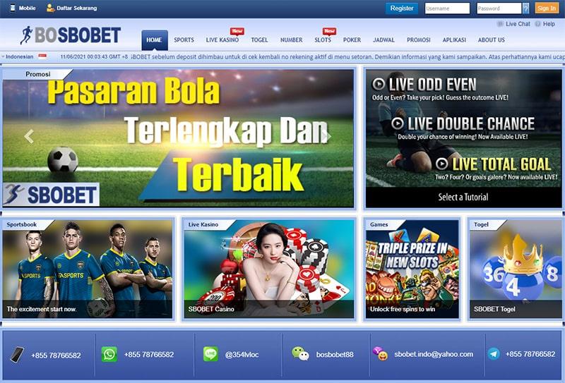 situs agen bosbobet judi slot online daftar taruhan bola sbobet online terpercaya indonesia